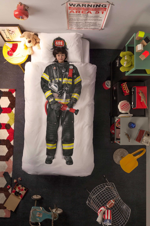 SNURK Brandmand Sengetøj