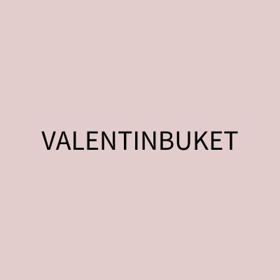 Valentinbuket