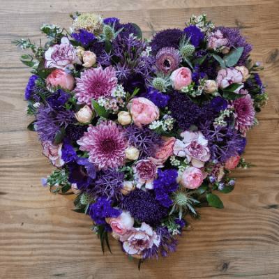 Blomsterhjerte Til Begravelse