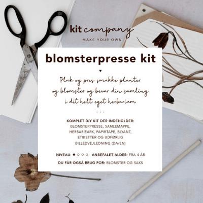 Blomsterpresse Kit