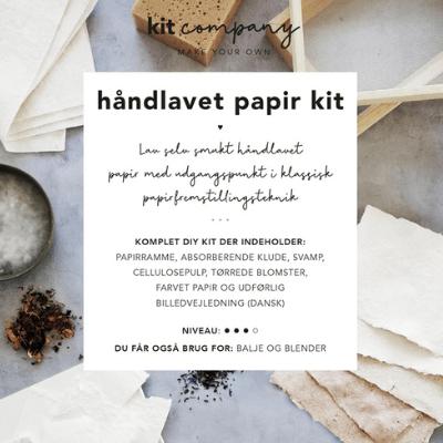 Håndlavet Papir Kit